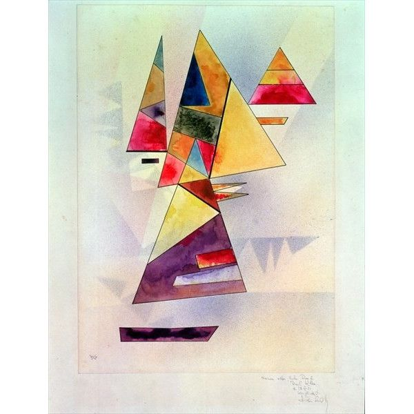 Magnolia Box Composition, 1930  by Wassily Kandinsky Framed Art Print