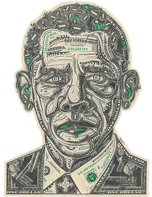 22 best images about the art of currency on pinterest for Dollar bill koi
