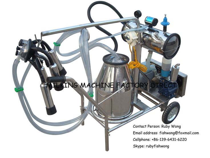 Vacuum Cow Milking Machine