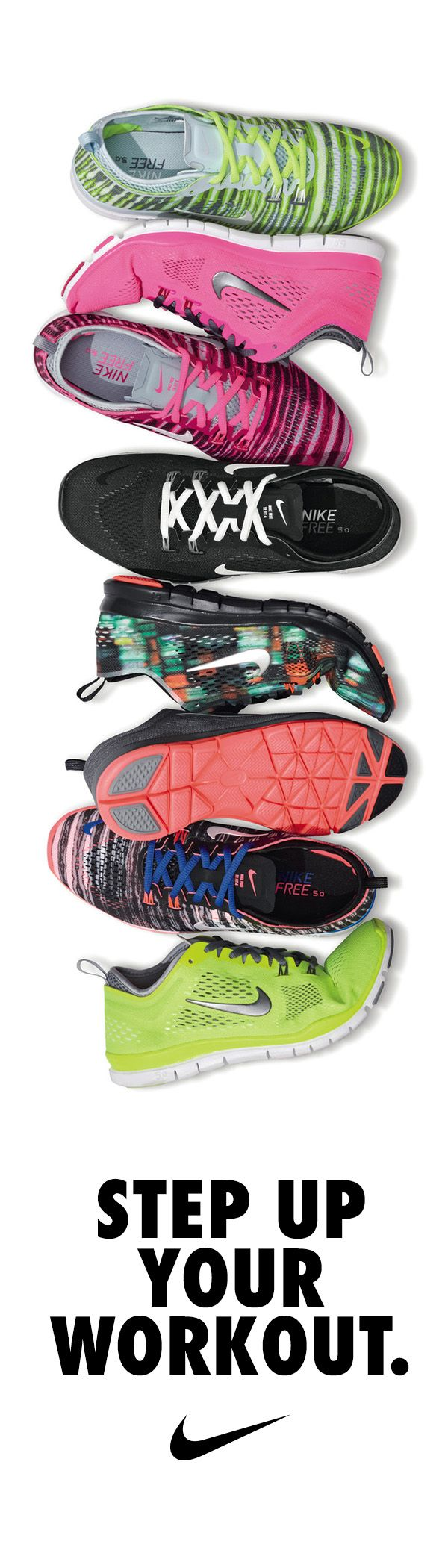 Step up your workout in the Nike Free TR 4 training shoe. Vibrant patterns and bold colors to keep you motivated through your toughest training.