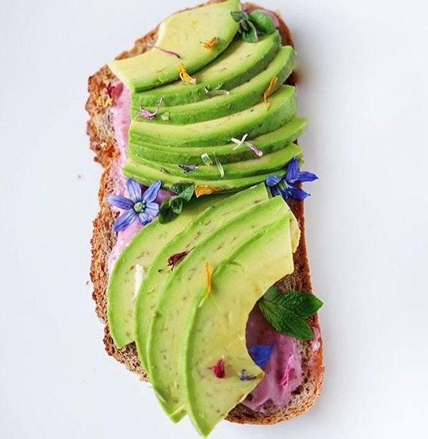 my kinda avocado toast