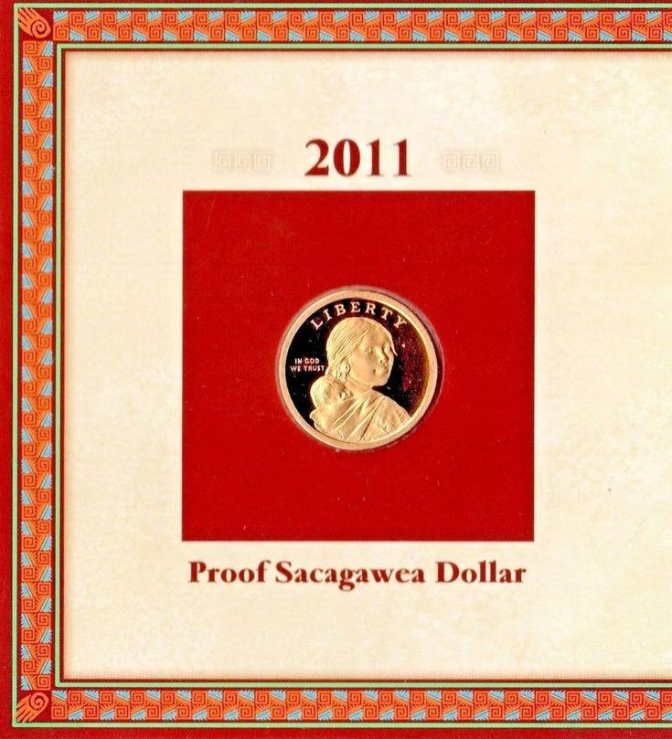 2011 Uncirculated Proof Sacagawea Dollar with Wampanoag Information Card