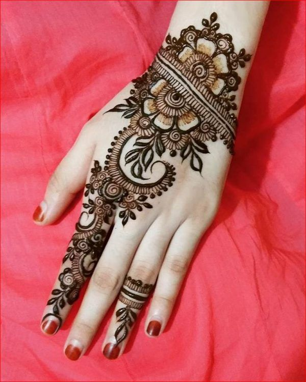 17 Best Ideas About Latest Bridal Mehndi Designs On Pinterest | Bridal Henna Latest Design Of ...