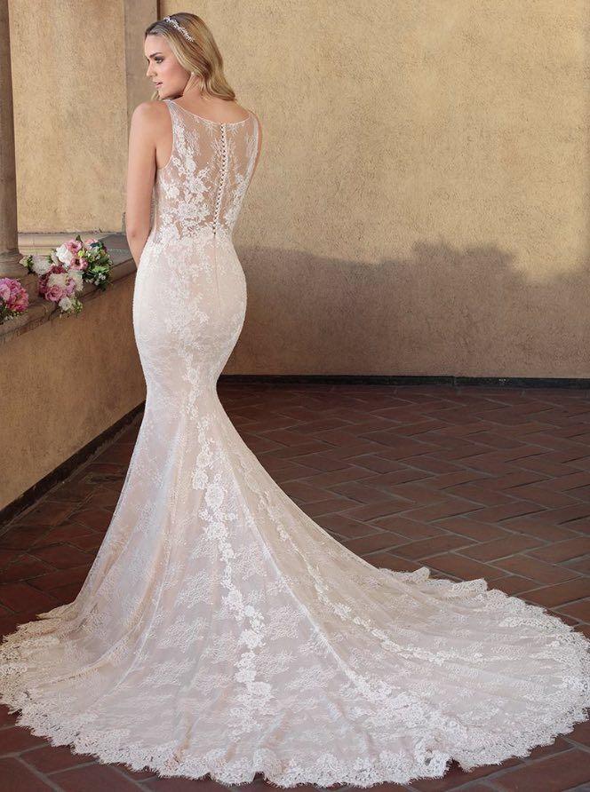 Courtesy of Casablanca Bridal Wedding Dresses; Wedding dress idea.