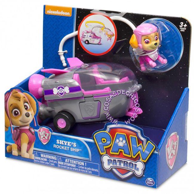 #PawPatrol #Figura con #Vehiculo Grande #Skye #Figure #PatrullaCanina #NickJr #Nickelodeon #Original #CosasDeChicos #Dogs #Perros #Toys #Kids #Truck