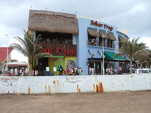 Senor Frogs - Cozumel Mexico by