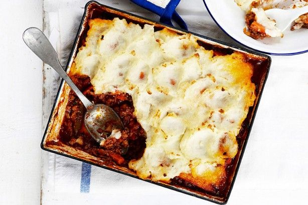 Cheat's cottage pie main image Try a sweet potato topping