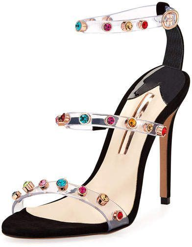 22add429d11 Sophia Webster Rosalind Gem Strappy Sandal  StilettoHeels. Find this Pin and  more on Stiletto Heels by Womens High Fashion ...