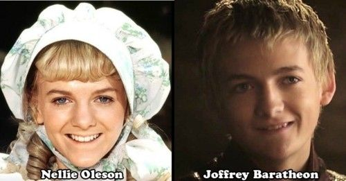 """Was """"Game Of Thrones""""' Joffrey Baratheon On """"Little House On The Prairie""""?: Thoughts, King Joffrey, Little Houses, The Faces, Games Of Thrones, Funny, Births, Kid, Identity Twin"""