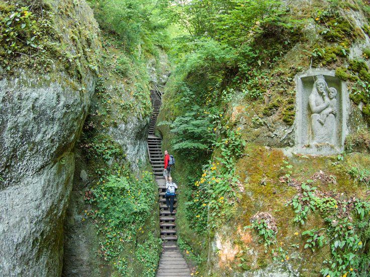 Marienschlucht Konstanz - Die schönste Schlucht am Bodensee (bis 2017 gesperrt)