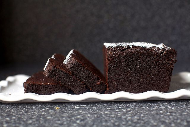 everyday chocolate cake by smitten kitchen...just made this yesterday, easy and delicious!
