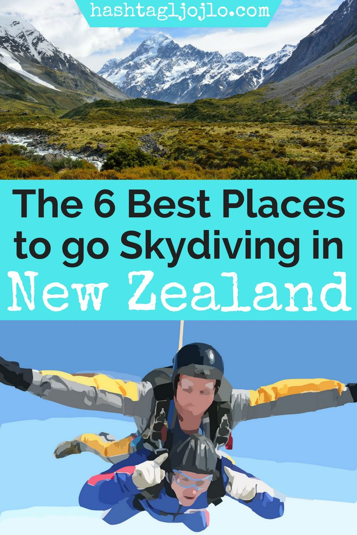 New Zealand is known for its incredible beauty, so why not do something that will allow you to see all of it from above? There are so many incredible places to go skydiving in New Zealand, but we will share our favorite 6 places. Check out this fun thing to do in New Zealand and add this to your bucket list. Don't forget to save these skydiving locations in New Zealand to your travel board so you can find them later.