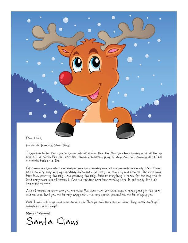 Is your little one proud of a big achievement this year? Santa has a letter for that! www.easyfreesantaletter.com