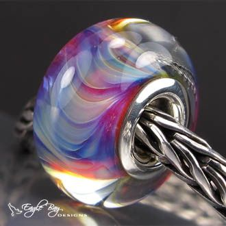 Imagination for Pandora or Trollbeads - beautiful handmade glass beads