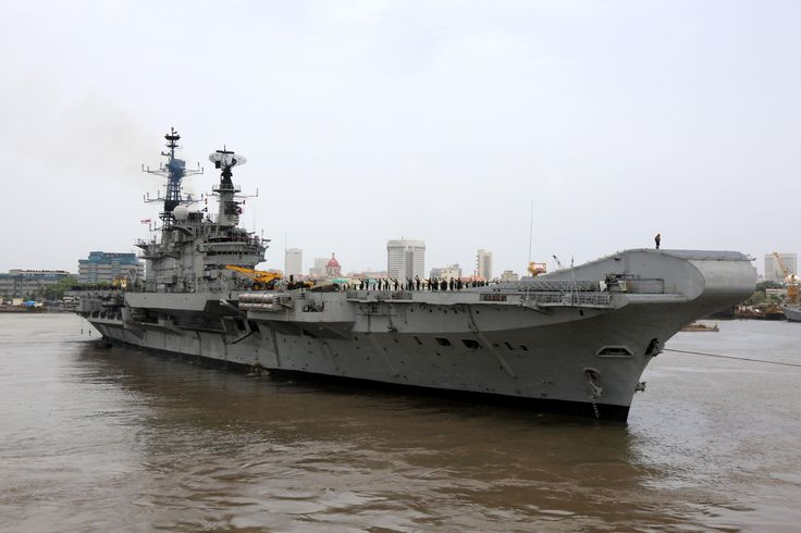 July 23, 2016 - Aircraft Carrier, INS Viraat set sail for Kochi this afternoon for Essential Repairs and Dry Docking (ERDD) at the Cochin Shipyard. This is the last sailing under her own propulsion as INS Viraat is slated for decommissioning later this year. Vice Admiral Girish Luthra, Flag Officer Commanding-in-Chief Western Naval Command and other senior officers of the command, visited the ship and interacted with tcrew prior to her departure.Commissioned into the Indian Navy on 12 May…