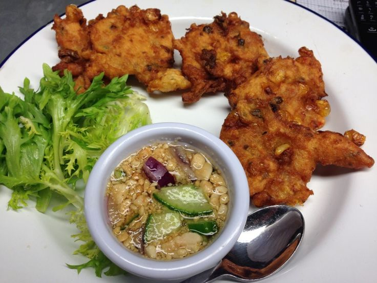Thai Corn Fritters (Tod Man Khao Pod) Recipe — Dishmaps