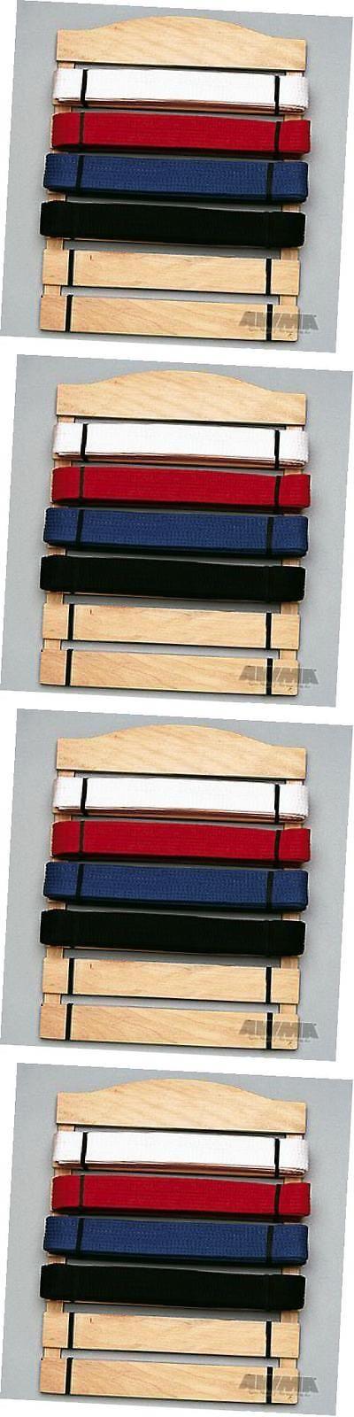 Belt Displays 179768: Karate Belt Display Wood Rack - 6 Belts -> BUY IT NOW ONLY: $34.99 on eBay!