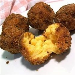 Fried Mac and Cheese Balls - Recipes, Dinner Ideas, Healthy Recipes & Food Guide