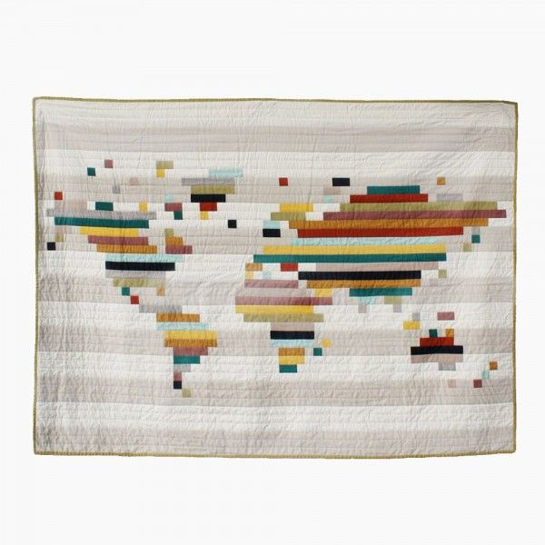 the world quilt \\\ yellow spool