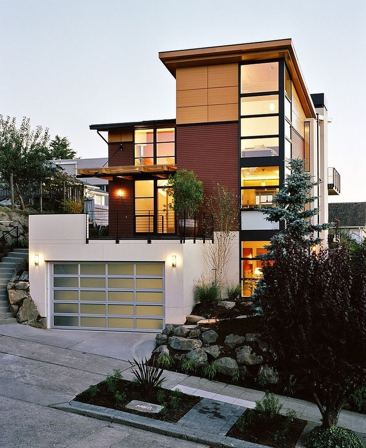 Modern Home Design Exterior Entrancing Decorating Inspiration