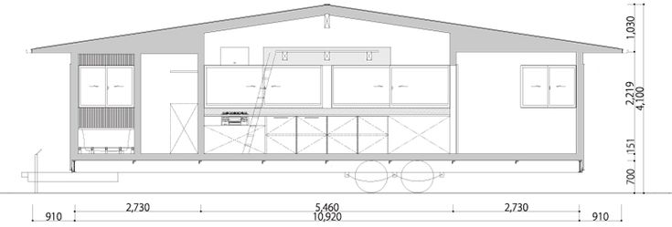 La Casa Móvil (sobre ruedas) del Atelier Tekuto