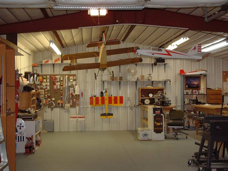 1000 images about rc airplanes on pinterest radios for Garage workshop pictures