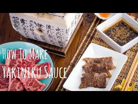 Yakiniku sauce is a sweet & flavorful Japanese BBQ sauce perfect for dipping thinly sliced of well marbled short rib and other grilled goodies.