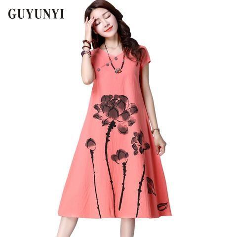 Summer Dress Plus Size Women Clothing