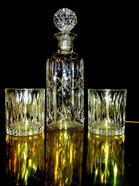 Waterford Crystal Decanter Retired Pattern circa 1940s to ...