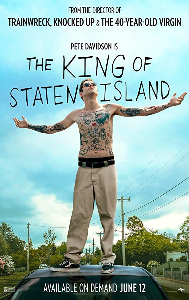 The King Of Staten Island Movie In 2020 Island Movies Staten Island Judd Apatow