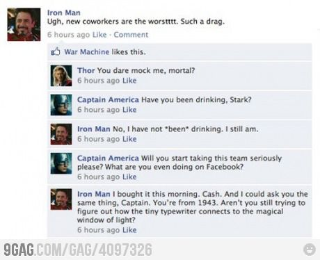 Iron Man and The Avengers