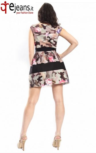 RINASCIMENTO Abito in fantasia con zip BUY NOW!: http://www.ejeans.it/index.php?id_product=1803&controller=product&id_lang=6