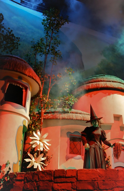 Wicked Witch of the West in Munchkinland at the Great Movie Ride at Disney's Hollywood Studios, Walt Disney World, FL