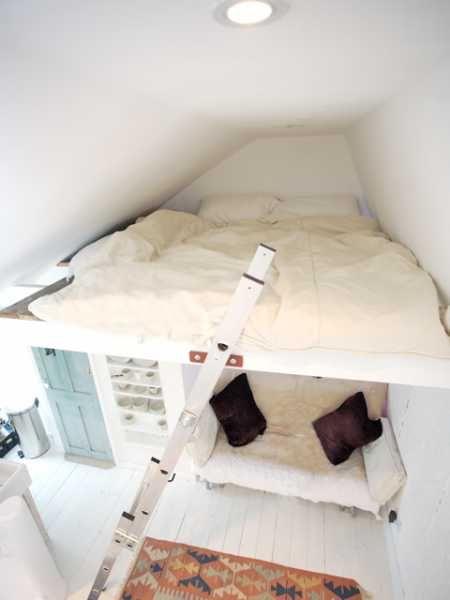 attic mezzanine bed