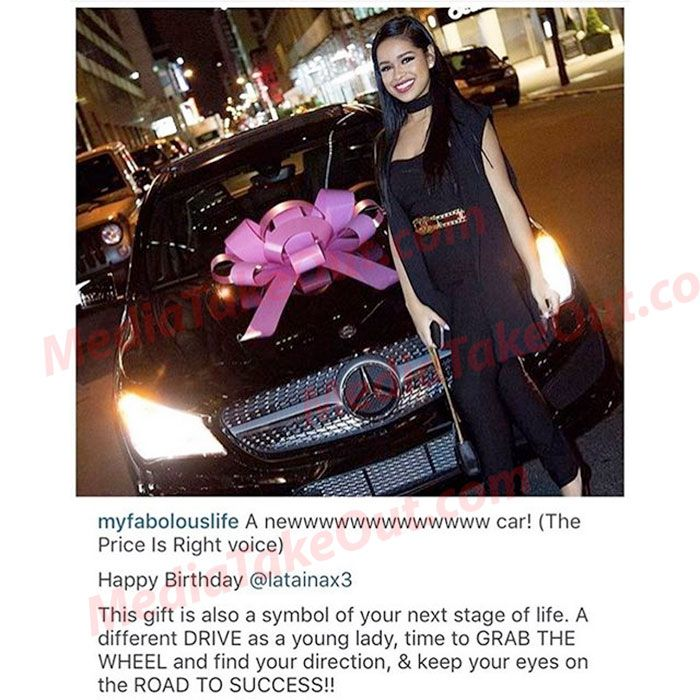 BEST STEP-DAD EVER!!! Look At The PRESENT That Rapper Fabolous . . . Gave Emily's DAUGHTER . . . For Her 18th Borthday!!!
