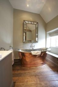 Awesome Rustic Country Bathroom Mirror Ideas 32