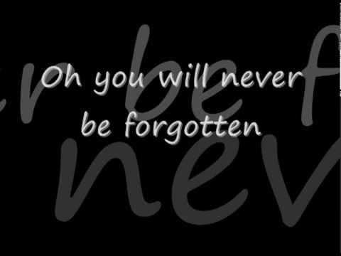jessica Andrews - you will never be forgotten lyrics.avi....NEVER EVER FORGOTTEN MATTHEW ...
