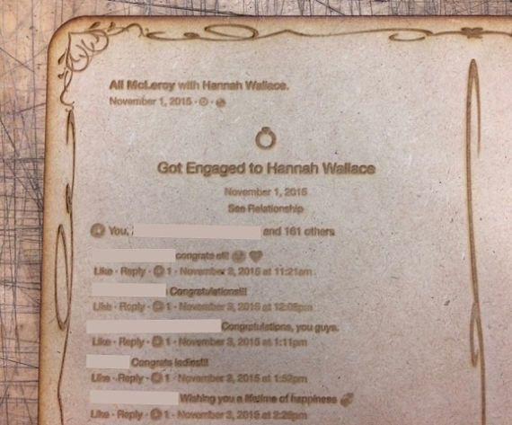 17 Best Ideas About Facebook Engagement Announcement On