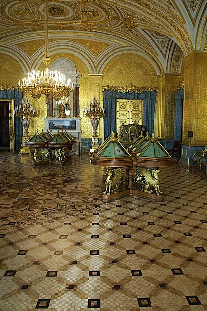 The Hermitage - St Petersburg, Russia
