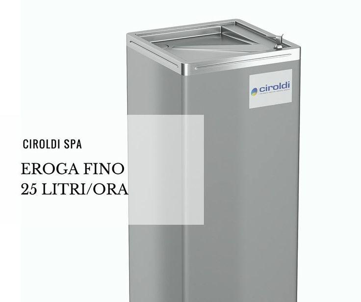 Non semplici Refrigeratori d'acqua in INOX, ma capaci di erogare fino a 25 litri/ora  #CiroldiSpA #prodottiinox #inoxAISI304 #inox #inoxidable #azienda #materiales #madeinitaly #modena #produzione #igiene #garanzia50anni#inox2016 #perfect #cleaning #steel #clean #likes #acciaio #refrigeratoredacqua #comandomanuale #acqua #semplice