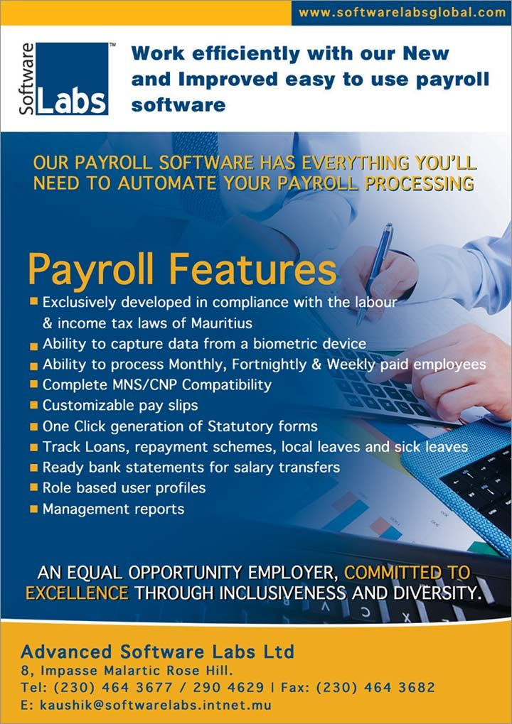 Advanced Software Labs Ltd - Payroll & Human Resource Management System. Tel: 464 3677