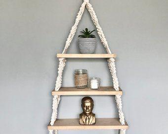 Handmade Macrame Plant Hanger // Boho Decor // Modern Macrame