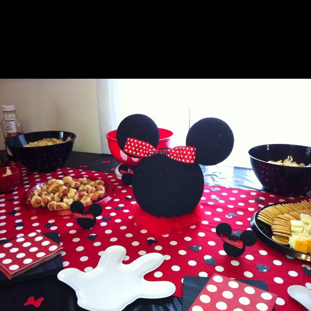 449 best mm bowtique party images on pinterest birthdays birthday parties and mickey party. Black Bedroom Furniture Sets. Home Design Ideas
