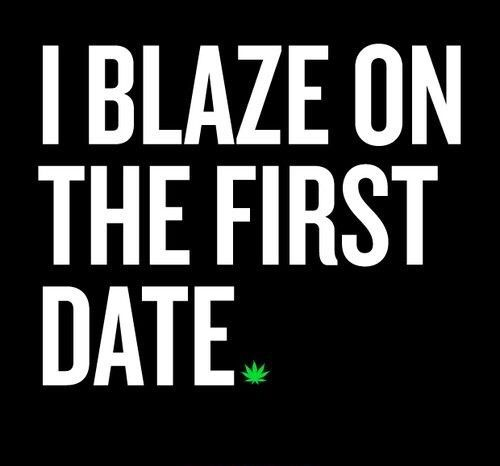 Dating a stoner chick