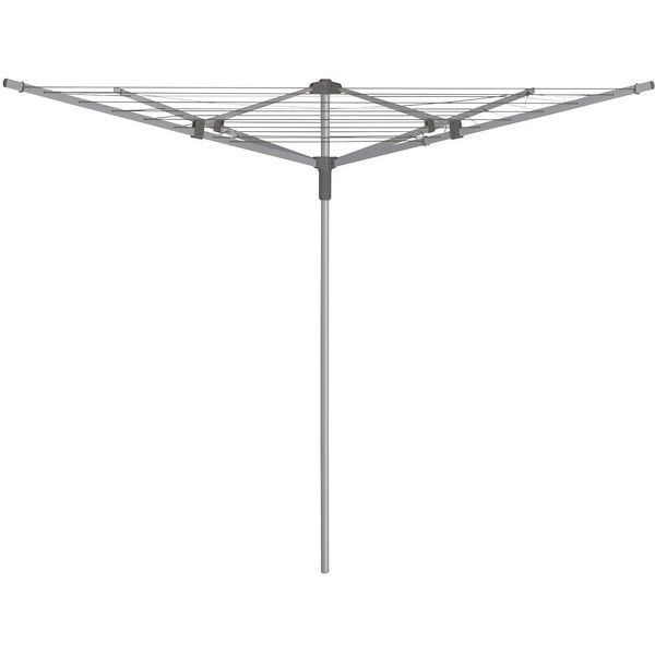 Addis 40M 4 Arm Outdoor Rotary Airer ($43) ❤ liked on Polyvore featuring home, outdoors and addis