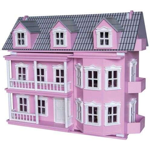 Timbertop Pink Victoria Dolls House