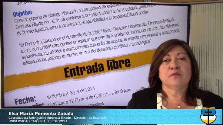 Encuentro Universidad Empresa Estado -Universidad Católica de Colombia #ucatolicacol