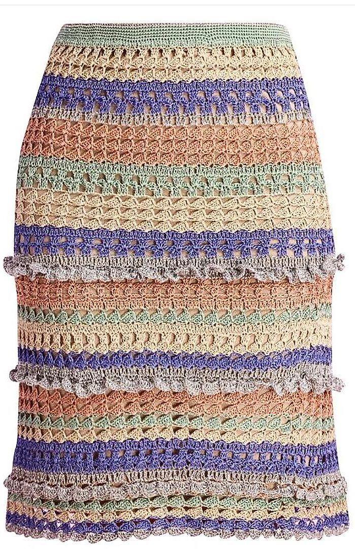 Cute, Flirty, Fabulous Crochet Skirt Pattern Ideas for 2019 – Page 33 of 40