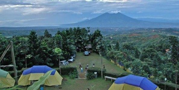 Camping and Playing Ground at Riung Gunung Park
