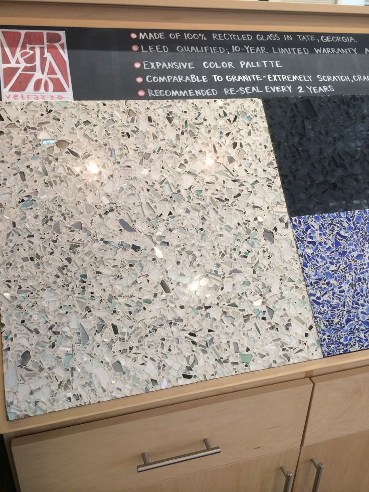 Treehouse Recycled Glass Countertops Also Available Through House Earth Bathroom Remodel